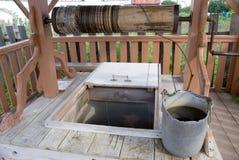 Receptor de papel del agua dulce Imagen de archivo libre de regalías