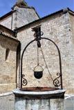 Receptor de papel medieval Foto de archivo libre de regalías