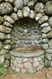 Receptor de papel viejo de la piedra Fotografía de archivo libre de regalías