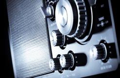 Receptor de rádio imagens de stock