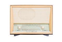 Receptor de rádio velho do isolado do século passado Foto de Stock