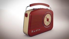 receptor de radio 3D Imagenes de archivo