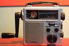 Receptor de radio de la emergencia Foto de archivo libre de regalías