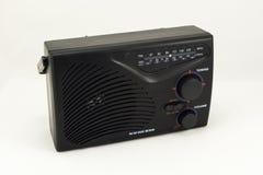 Receptor de radio en el fondo blanco Imagen de archivo libre de regalías