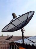 Receptor de satélite Foto de archivo libre de regalías