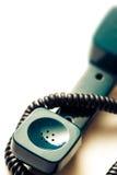 Receptor de telefone verde fotos de stock royalty free