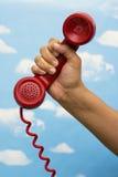 Receptor de teléfono Fotos de archivo