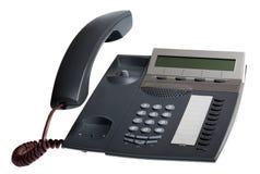 Receptor del teléfono apagado fotografía de archivo