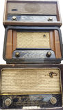Receptores de radio del vintage, sintonizadores Fotografía de archivo