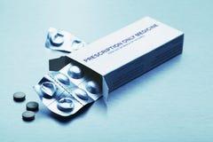 Recepturowa medycyna Fotografia Stock