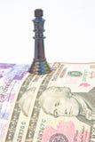 Recesión: el efectivo es rey. Imágenes de archivo libres de regalías