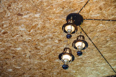 Recessed ceiling lights Royalty Free Stock Image
