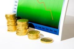 Recessie Stock Foto