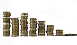 Recessie of de groei, Weinig torens royalty-vrije stock foto
