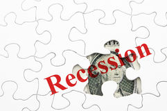 In recession Royalty Free Stock Images