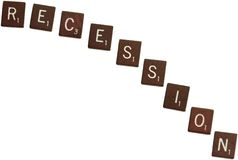 Recession stock photos