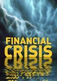 Recession. Conceptual illustration: Financial crisis (recession Stock Photo