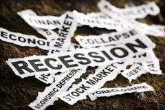 Recession stock photos