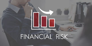 Recession Decrease Business Bar chart Concept Stock Images