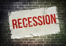 Recession - temporary economic decline warning