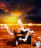 Recessione. Crisi. fotografia stock libera da diritti