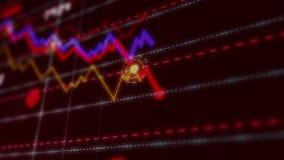Recessione e crisi di riserva illustrazione vettoriale