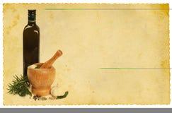 Receta Imagen de archivo libre de regalías