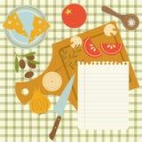 receta Foto de archivo libre de regalías