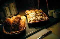 Receta de la panadería Foto de archivo libre de regalías