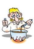 Receta del cocinero Foto de archivo libre de regalías