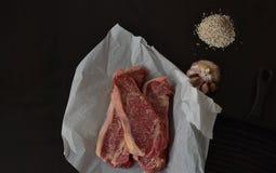 Receta perfecta para la dieta del carnívoro fotografía de archivo