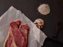 Receta perfecta para la dieta del carnívoro foto de archivo