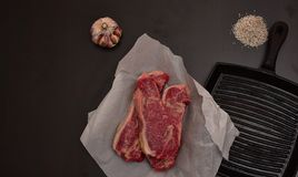 Receta perfecta para la dieta del carnívoro imagen de archivo libre de regalías