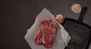 Receta perfecta para la dieta del carnívoro fotografía de archivo libre de regalías