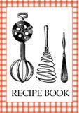 recette de livre Photographie stock