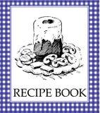 recette de livre Photographie stock libre de droits