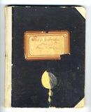 Recette-livre Photo libre de droits