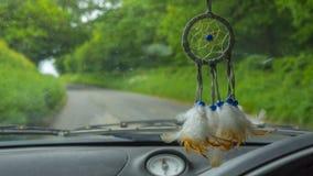Receveur rêveur accrochant dans la voiture Photo libre de droits