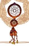 Receveur rêveur traditionnel indien indigène Images stock