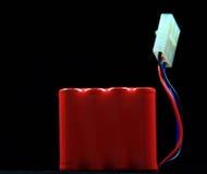 recharegeable tillbaka batteri Royaltyfri Fotografi