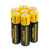 Rechargeable AA Batteries Stock Images