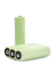 Rechargeable batteries Stock Photos