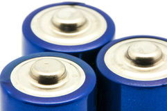 Rechargeable batteries Stock Images