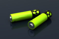 Rechargeable Battery Royalty Free Stock Image