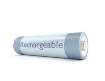 Rechargeable battery. Royalty Free Stock Photos