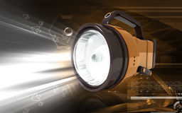 Rechargeable spot light Stock Photo