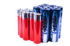 Rechargeables batterys Royalty Free Stock Image