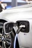 Recharging of hybrid BMW car Royalty Free Stock Photos