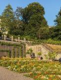 Rechberg Garden In The City Of Zurich, Switzerland Royalty Free Stock Photo