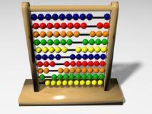 Rechenmaschine in 3D Lizenzfreies Stockfoto